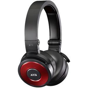 CASQUE - ÉCOUTEUR AUDIO K619 Red Casque pour DJ compatible iPhone - Rouge