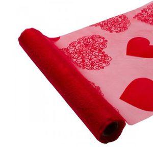 chemin de table rouge achat vente chemin de table rouge pas cher. Black Bedroom Furniture Sets. Home Design Ideas
