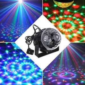 AMPOULE ÉCLAIRAGE SCÈNE MOONAR® Magic Crystal Mini Parti LED RGB Disco Clu