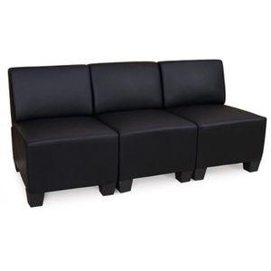 canape sans accoudoir achat vente canape sans accoudoir pas cher cdiscount. Black Bedroom Furniture Sets. Home Design Ideas