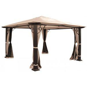 pergola aluminium 5 par 3 achat vente pergola aluminium 5 par 3 pas cher cdiscount. Black Bedroom Furniture Sets. Home Design Ideas