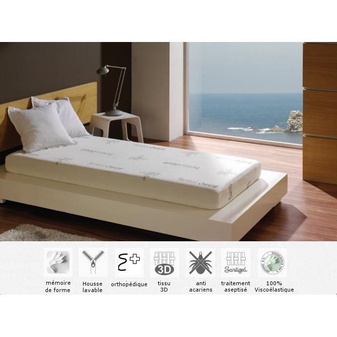 matelas enfant babu m moire de forme 90x200 paisseur 15cm achat vente matelas soldes d. Black Bedroom Furniture Sets. Home Design Ideas