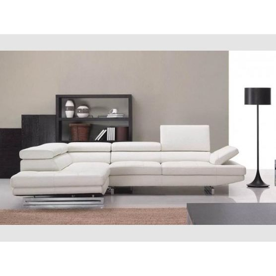 Canap d 39 angle milano cuir achat vente canap sofa for Canape d angle cuir