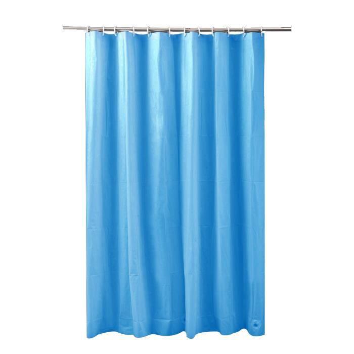 rideau de douche peva bleu achat vente rideau de douche cdiscount. Black Bedroom Furniture Sets. Home Design Ideas