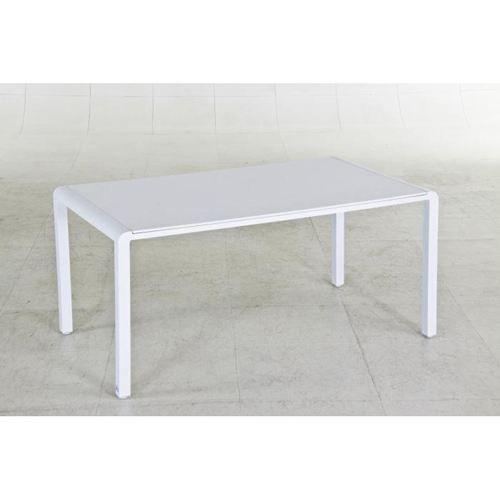 Table De Jardin Petra Aluminium Blanc Achat Vente Table De Jardin Table De Jardin Petra