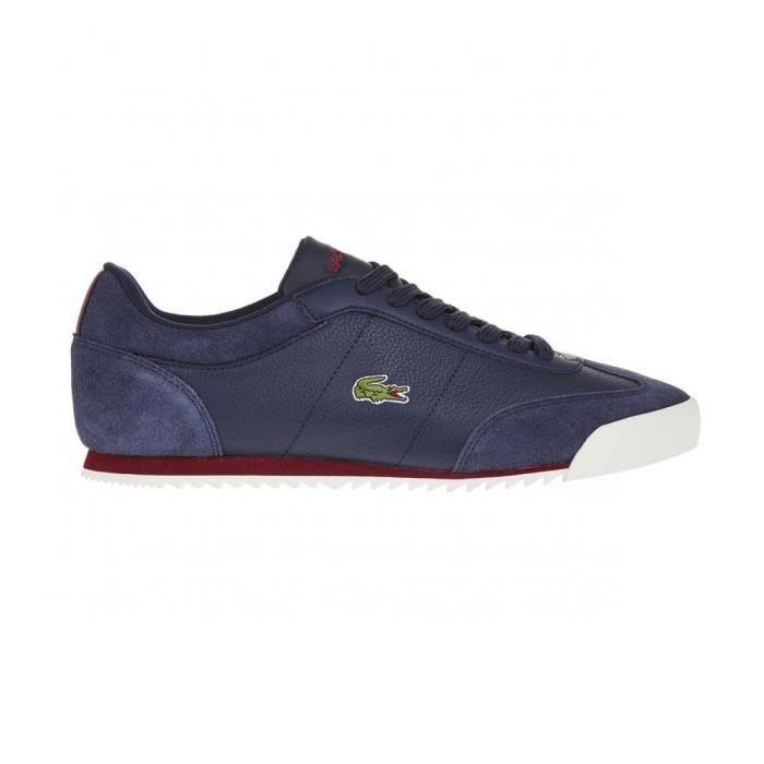 chaussures lacoste romeau put bleu marine bleu achat vente basket cadeaux de no l cdiscount. Black Bedroom Furniture Sets. Home Design Ideas