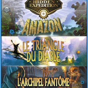 Triple Pack Hidden Expedition 3 + 4 + 5 Jeu PC