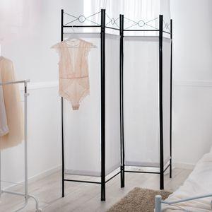 paravent achat vente paravent pas cher les soldes sur cdiscount cdiscount. Black Bedroom Furniture Sets. Home Design Ideas