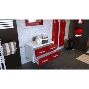 meuble d 39 entr e suspendu achat vente meuble d 39 entr e suspendu pas cher cdiscount. Black Bedroom Furniture Sets. Home Design Ideas