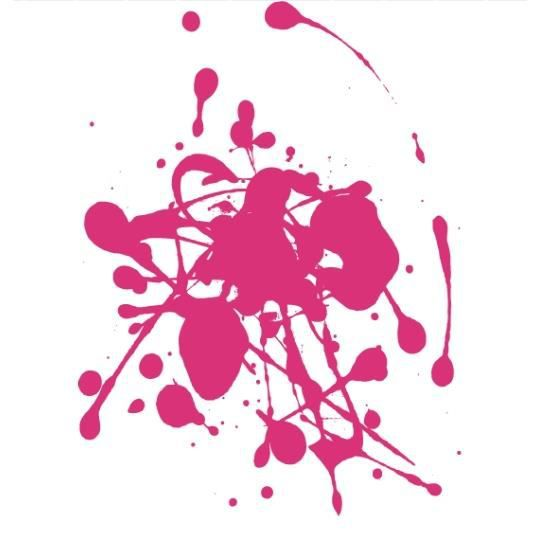 Stickers taches de peinture rose achat vente stickers cdiscount - Tache de resine sur vetement ...