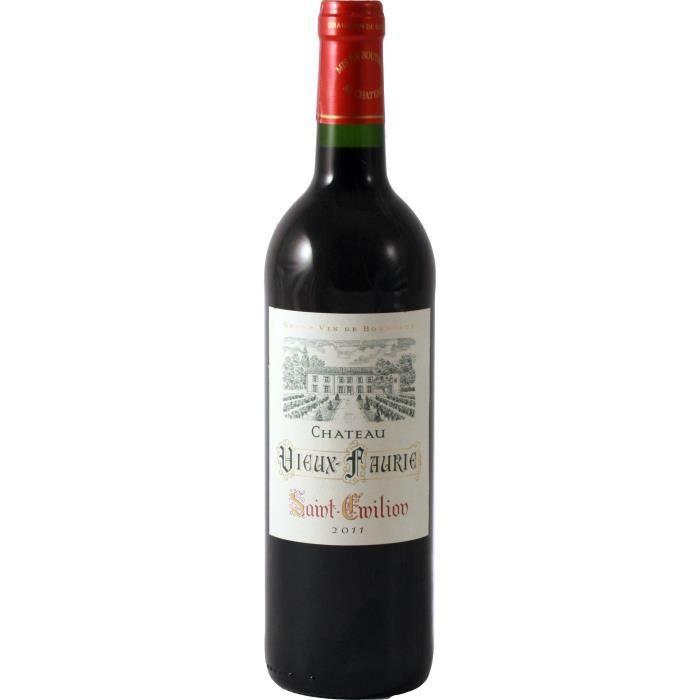 vin rouge saint emilion 13 ch teau vieux faurie 75cl achat vente vin rouge st emilion rg ch. Black Bedroom Furniture Sets. Home Design Ideas
