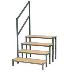 Escalier pour podium praticable escalier 80 cm achat vente escalier escal - Escalier en bois occasion ...