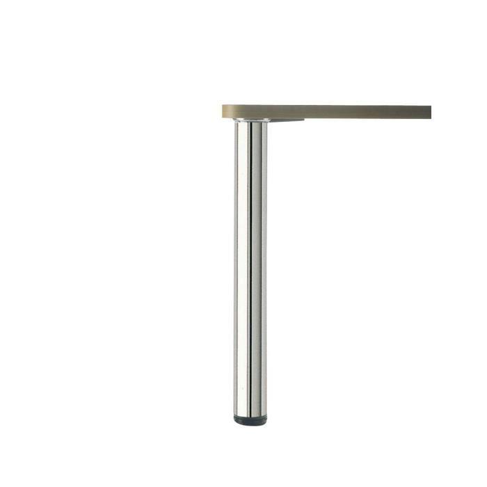 pied de table rond chrom hauteur 870 diam tre 60 achat vente pied de table pied de table. Black Bedroom Furniture Sets. Home Design Ideas