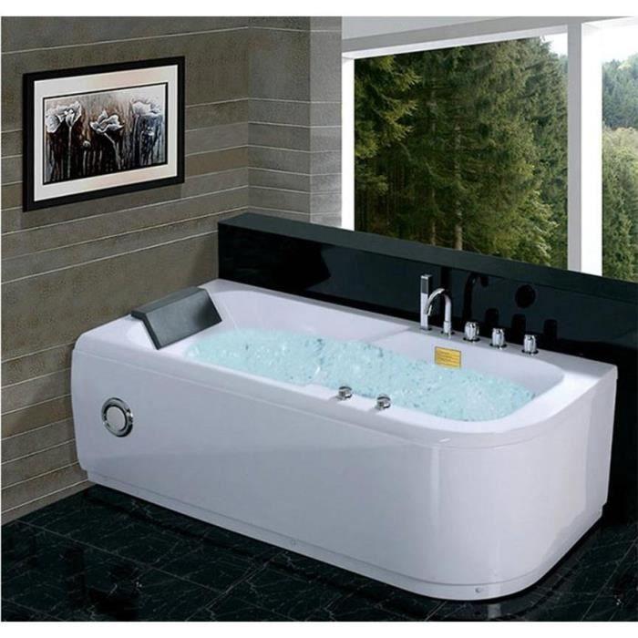 Baignoire baln o paxi angle gauche 170 80 cm achat vente baignoire kit - Baignoire balneo discount ...