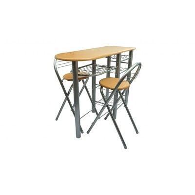 Table de bar cuisine avec 2 chaises achat vente mange - Table de cuisine avec chaise ...