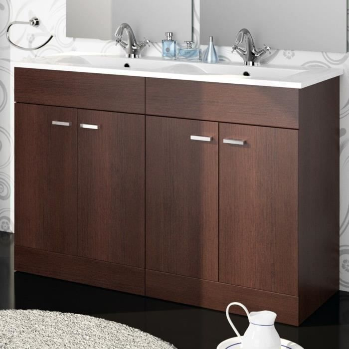 meuble salle de bain et vasque porcelaine 120 c achat vente meuble vasque plan meuble. Black Bedroom Furniture Sets. Home Design Ideas