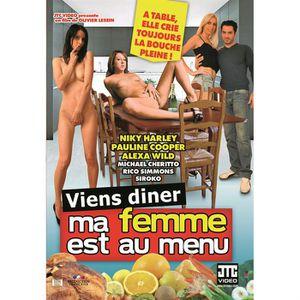 DVD X VIENS DINER, MA FEMME EST AU MENU