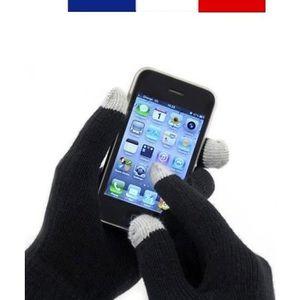 GANT TACTILE SMARTPHONE PAIRE DE GANTS TACTILES POUR SMARTPHONE TABLETTE U