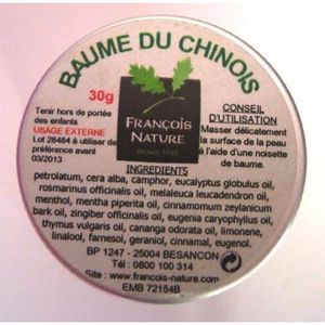 Baume du chinois - 30 g.