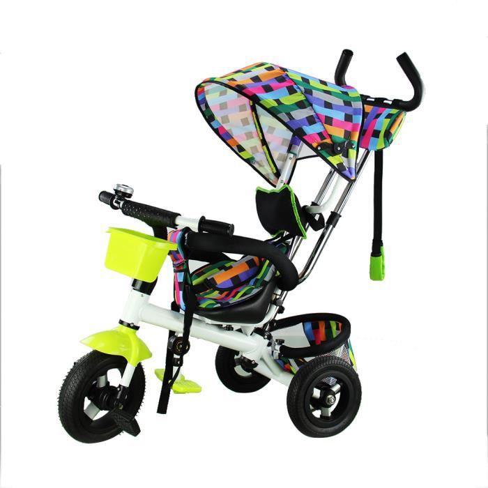 fascol tricycle pouseette pour b b v lo et v hicule pour. Black Bedroom Furniture Sets. Home Design Ideas