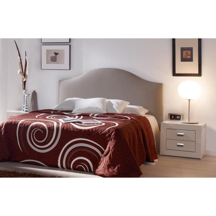 t te de lit femina l 145cm pour couchage 140cm achat vente t te de lit t te de lit. Black Bedroom Furniture Sets. Home Design Ideas