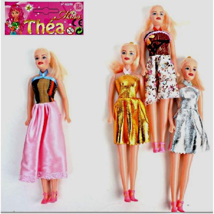 lot 10 poupee mannequin miss thea 28 x 6 cm jouet achat. Black Bedroom Furniture Sets. Home Design Ideas