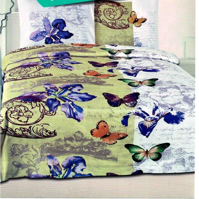 parure de lit une personne 140 x 200 achat vente parure de drap cdiscount. Black Bedroom Furniture Sets. Home Design Ideas