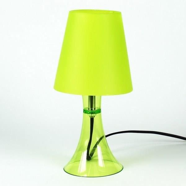 lampe de table jaune achat vente lampe de table jaune plastique cdiscount. Black Bedroom Furniture Sets. Home Design Ideas
