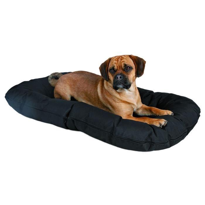 animalerie chiens trixie coussin drago  x cm noir pour chien f tri