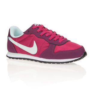 nike baskets genicco chaussures femme femme rose et violet achat vente nike baskets femme. Black Bedroom Furniture Sets. Home Design Ideas
