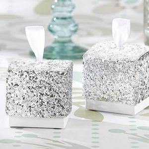 boite a dragee mariage argente achat vente boite a. Black Bedroom Furniture Sets. Home Design Ideas