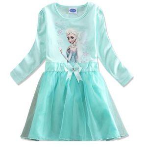 dguisement panoplie robe princesse fille reine des neiges 3 4 ans