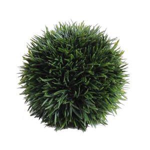 Boule herbe achat vente boule herbe pas cher cdiscount for Arbuste artificiel