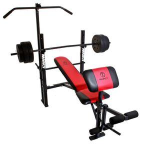 Marcy banc de musculation wm 203 halt res 36 kg prix pas cher cdiscount - Vente poids musculation ...