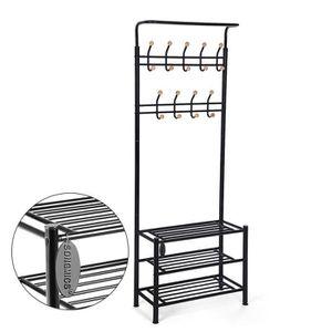 meuble porte manteau achat vente meuble porte manteau pas cher cdiscount. Black Bedroom Furniture Sets. Home Design Ideas