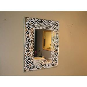 Miroir mosaique achat vente miroir mosaique pas cher for Miroir en mosaique
