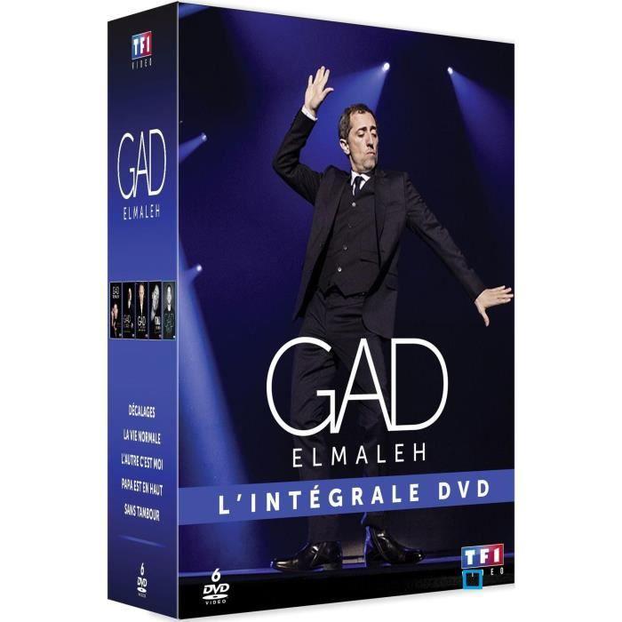 COFFRET GAD ELMALEH - L'INTEGRALE 5 DVD en dvd spectacle pas cher ...