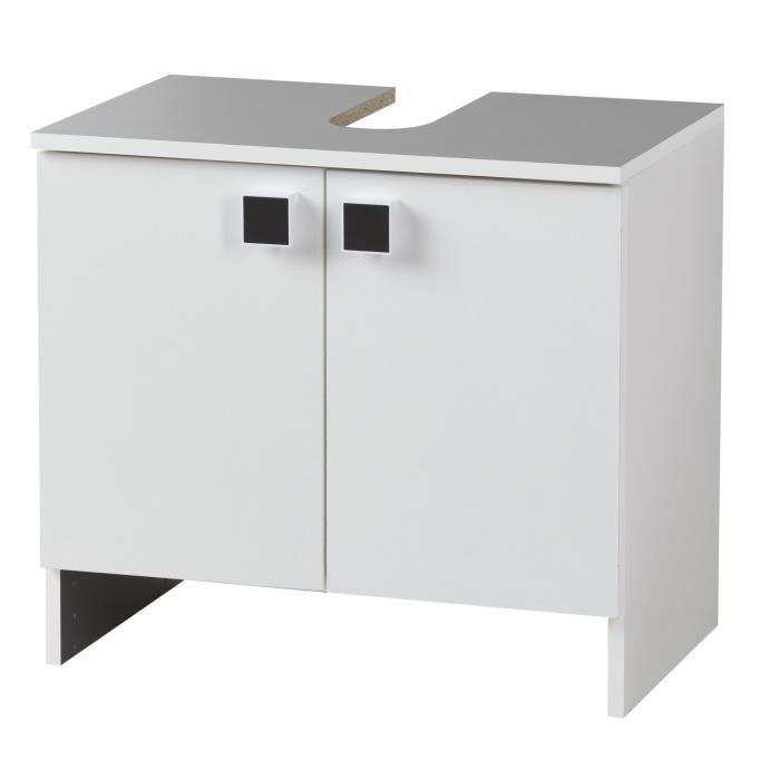 Clipo meuble de salle de bains 60cm achat vente meuble vasque plan clip - Meuble salle de bain 55 cm ...