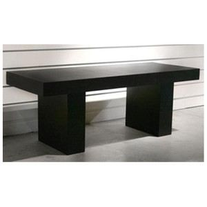Table de salle manger design 2m achat vente table a for Table de salle a manger design