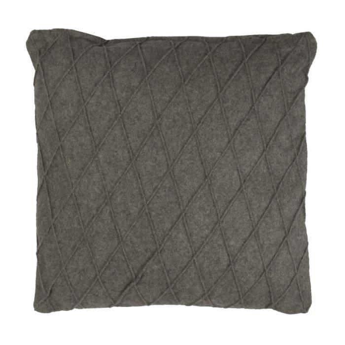 cocoon losange coussin 40x40 gris monbeaucoussin achat vente coussin cdiscount. Black Bedroom Furniture Sets. Home Design Ideas