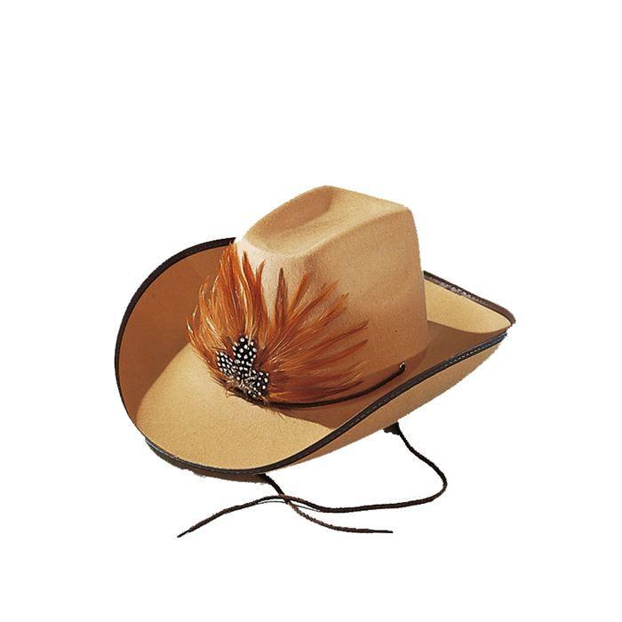 Chapeau Cow Boy Bill Brun Achat / Vente chapeau perruque