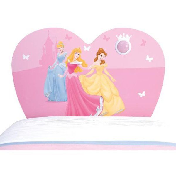 T te de lit princesse disney avec spot achat vente - Tour de lit princesse disney ...