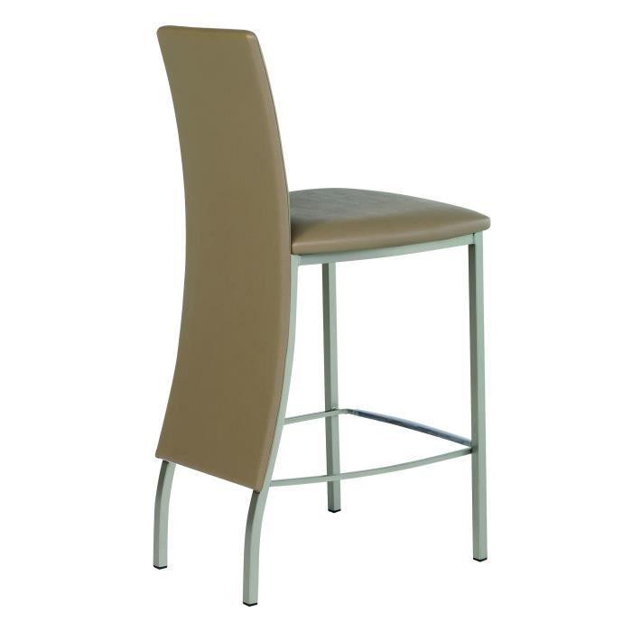 tabouret de bar design elyn ht65 l 46 x p 53 x h 98 5 cm. Black Bedroom Furniture Sets. Home Design Ideas