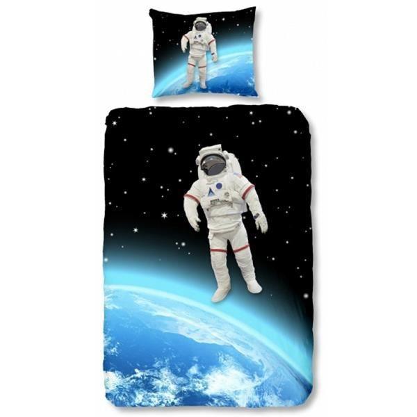 housse de couette espace astronaute achat vente housse de couette cdiscount