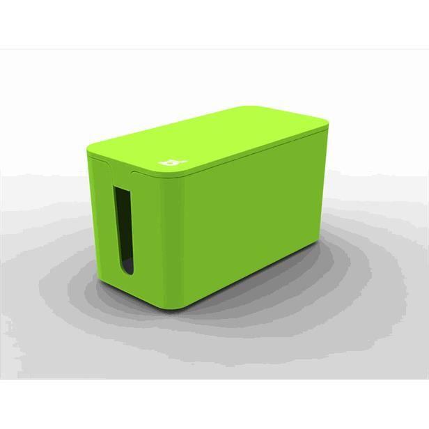 petite boite cache c bles vert achat vente goulotte cache fil cdiscount. Black Bedroom Furniture Sets. Home Design Ideas