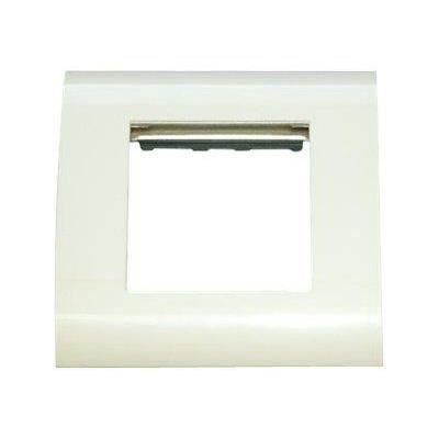 mcl bm780 45t placa de mur con 2 puertos rj 45 prix pas cher cdiscount. Black Bedroom Furniture Sets. Home Design Ideas