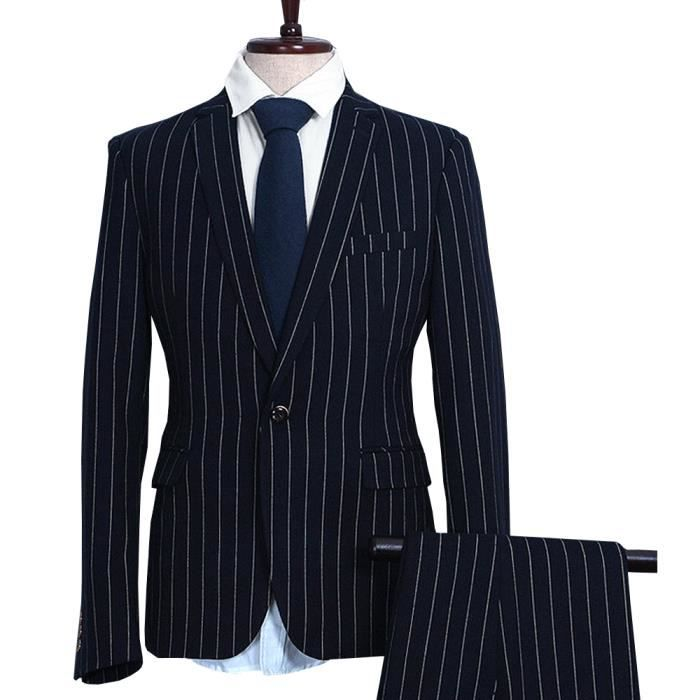 costume a rayure pour homme
