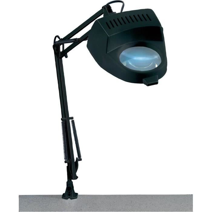 lampe mit lupe