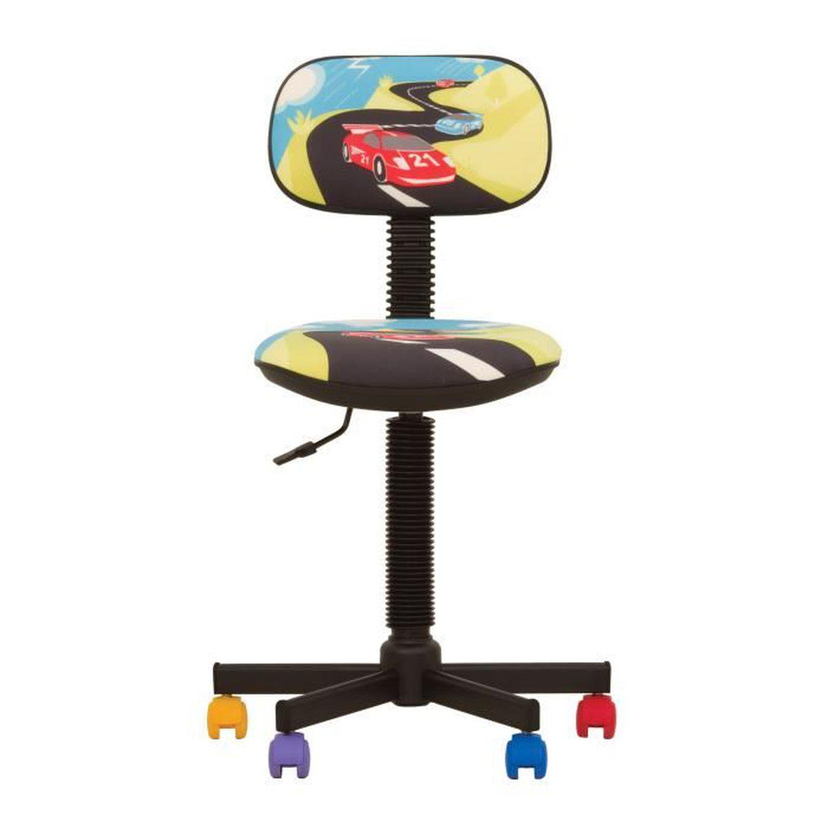 bambo turbo gts chaise de bureau enfant ergonomique hauteur de dossier r glable profondeur d. Black Bedroom Furniture Sets. Home Design Ideas