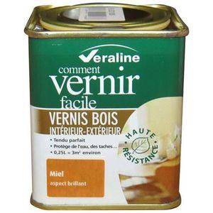 Vernis miel achat vente vernis miel pas cher cdiscount for Peinture vernis bois